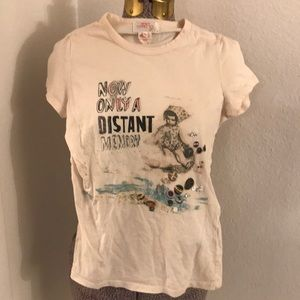 French connection decorative t shirt